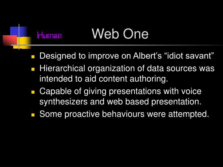 Web One
