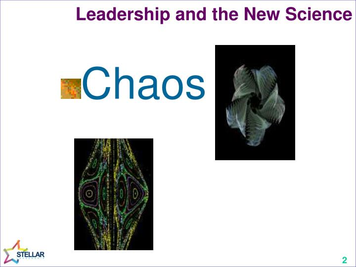 Leadership and the new science1