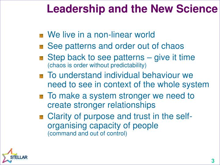 Leadership and the new science2