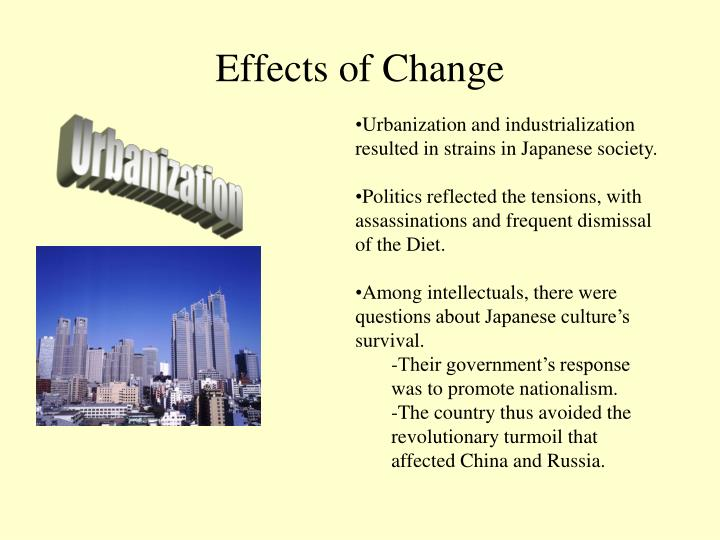 Effects of Change