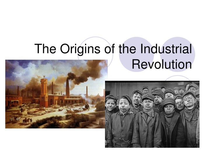 my analysis of the industrial revolution The industrial revolution completely changed the world this page introduces the concepts and links to in-depth explanations.