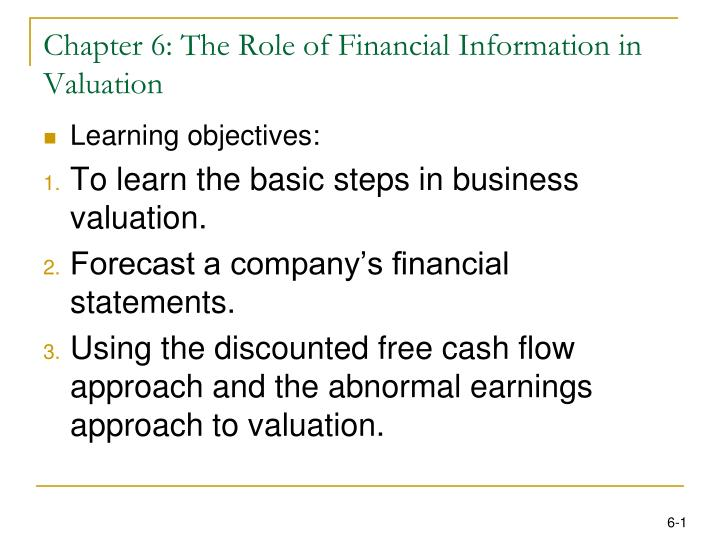 role of financial statements Start studying intermediate accounting 15th editon chapter 1 financial statements are the principal means the role of the securities and.