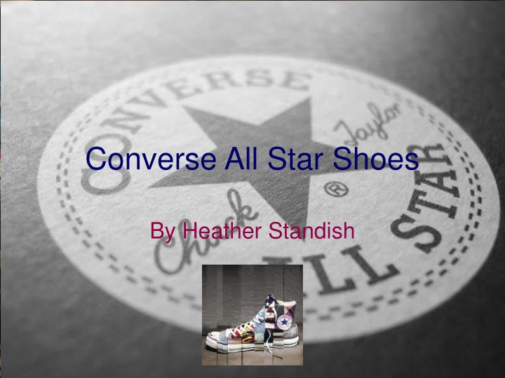 f045cb2ea720 PPT - Converse All Star Shoes PowerPoint Presentation - ID 2753317