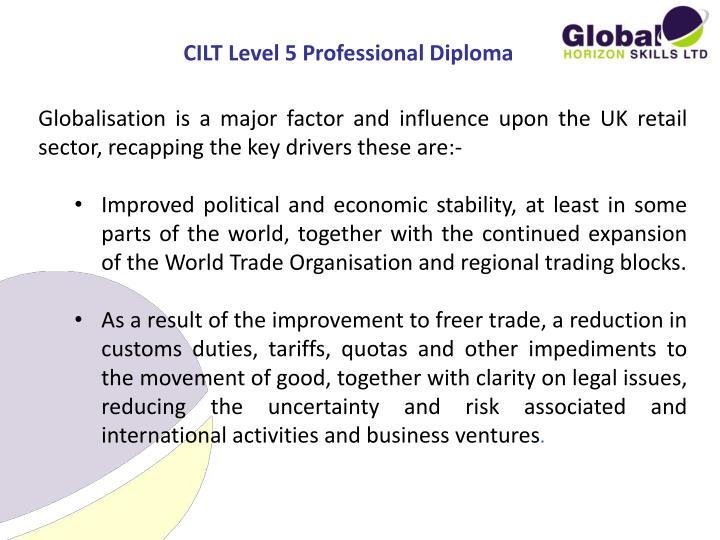 CILT Level 5 Professional Diploma