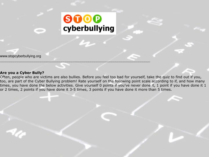www.stopcyberbullying.org
