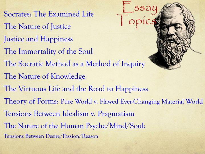 thucydide vs plato on the good life essay W ith the system of eudaimonism, plato and aristotle attempt to arrive at a theory or system or set of moral principles or values dealing with what is good and bad and with moral duty and obligation they further go on in applying these principles of conduct in governing an individual or group their main concern with conformity to this standard of right is the idea of virtue.