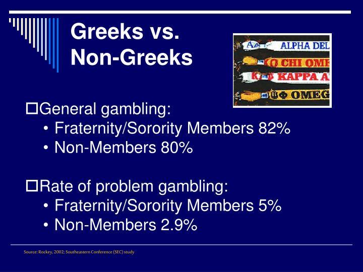 Greeks vs.