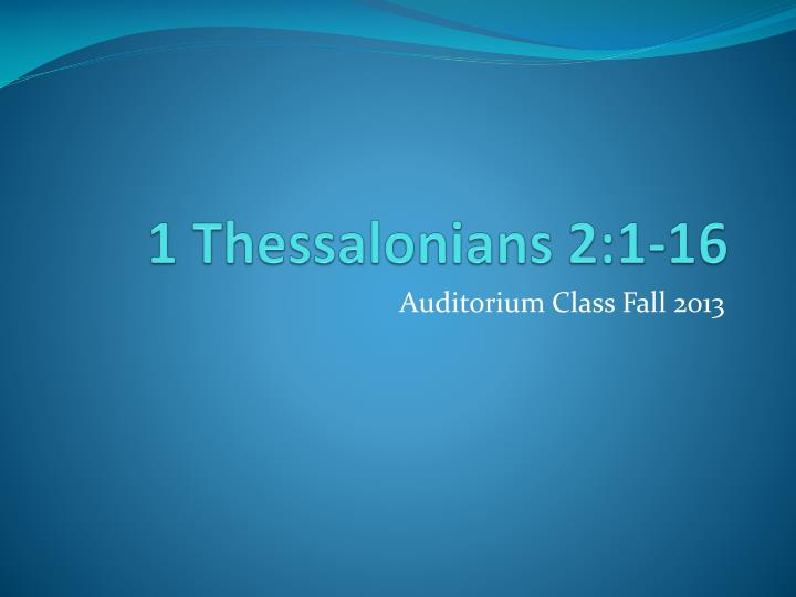 1 thessalonians 2 1 16 n.