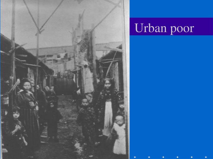 Urban poor