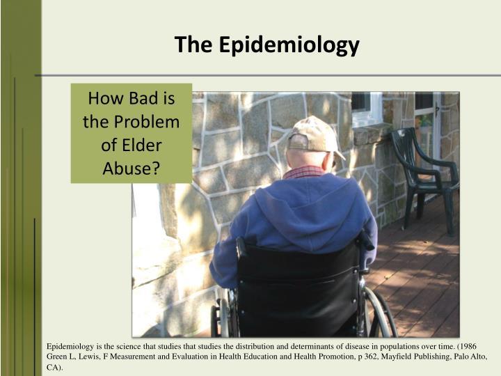 The Epidemiology