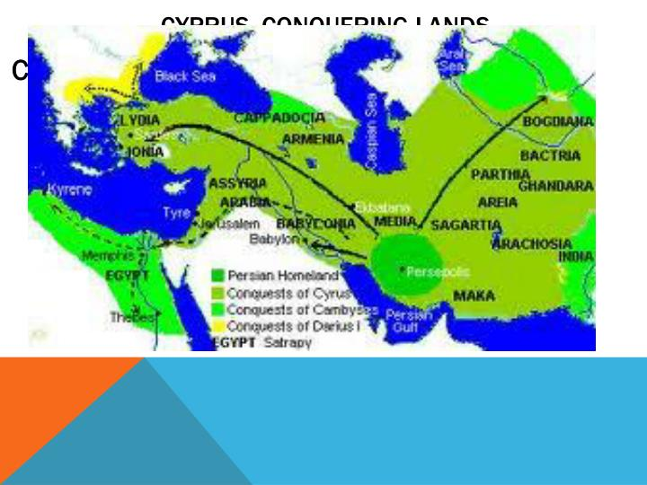 Cyprus, conquering lands