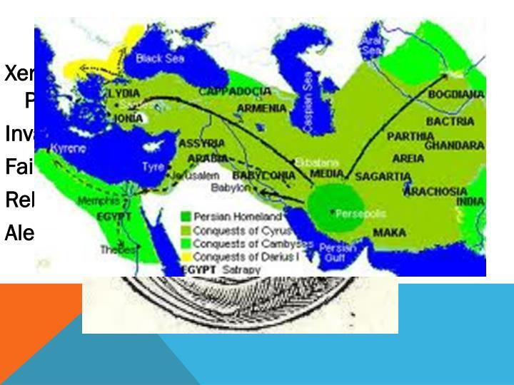 Persia in decline