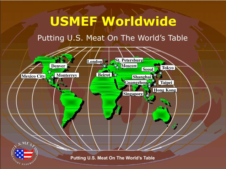 Usmef worldwide