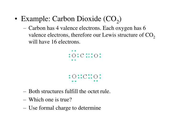 Example: Carbon Dioxide (CO
