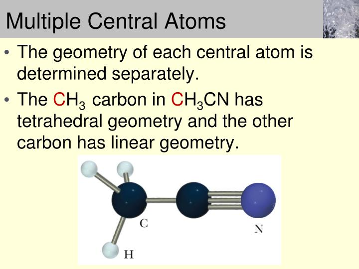 Multiple Central Atoms
