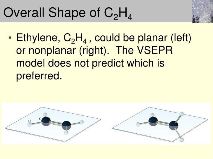 Overall Shape of C