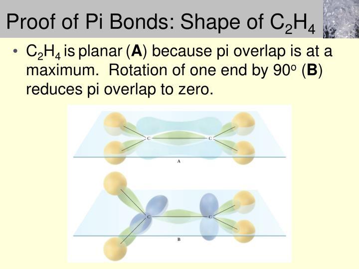 Proof of Pi Bonds: Shape of C