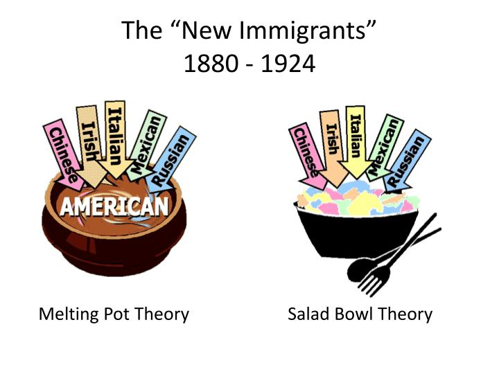 america as a melting pot essay America: the last best hope, chapter 12, an age more golden than gilded chapter 12 debate: melting pot or salad bowl introduction.