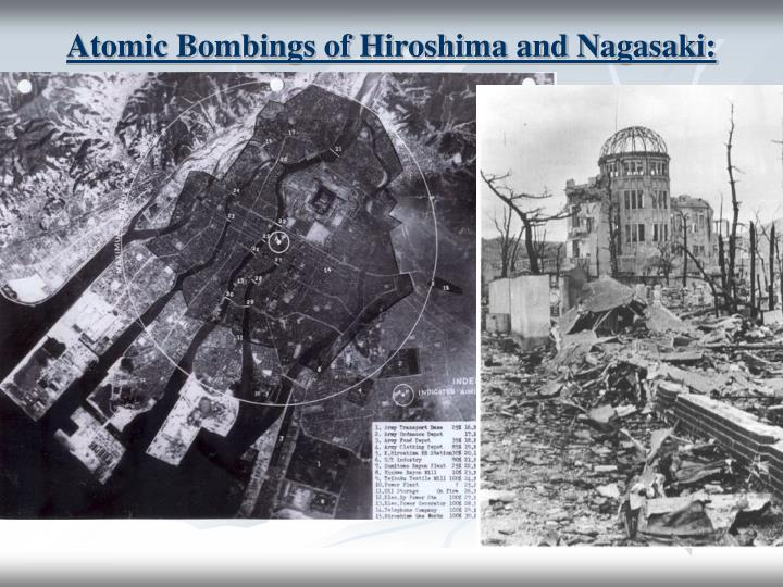 "atomic bombings of hiroshima and nagasaki ""i was three years old at the time of the bombing the horrors of nuclear warfare by visiting the atomic bomb museums in hiroshima and nagasaki."