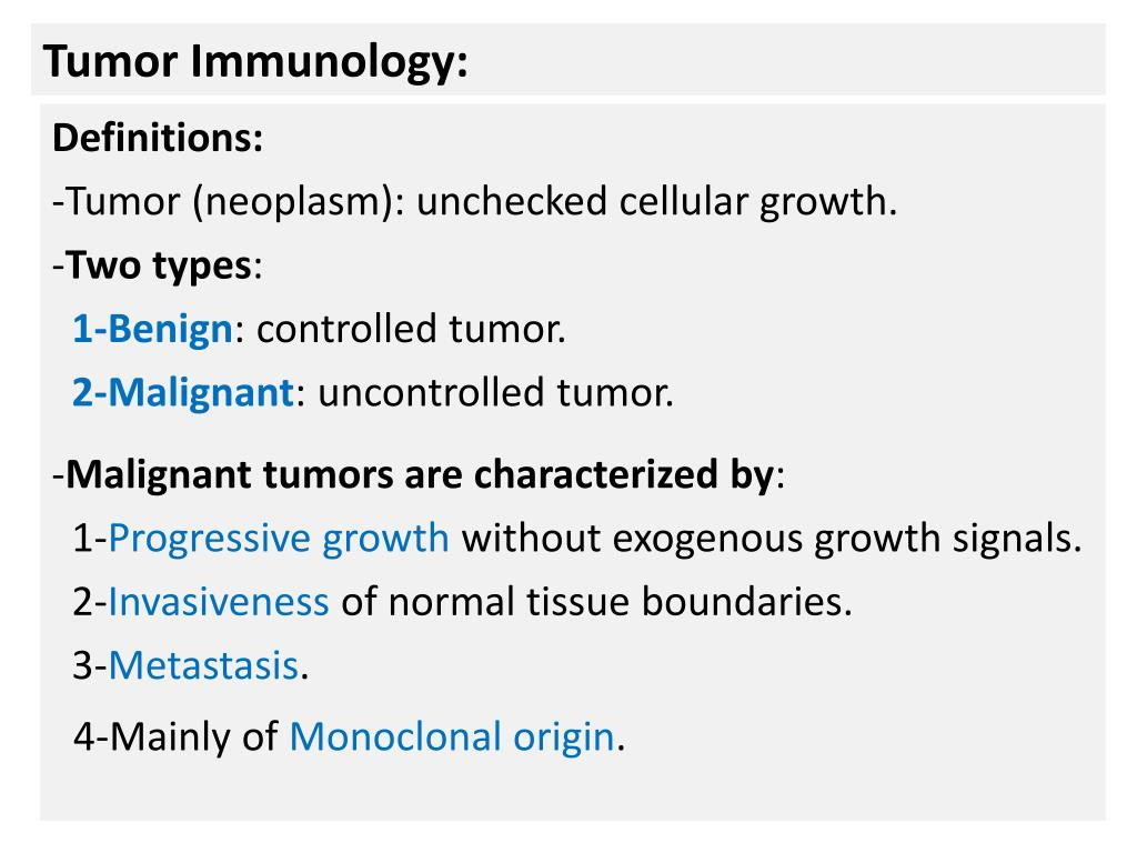 ppt - tumor immunology: powerpoint presentation - id:2754788