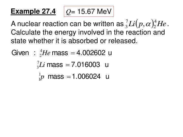 Example 27.4