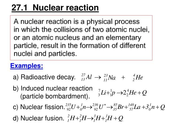A) Radioactive decay.