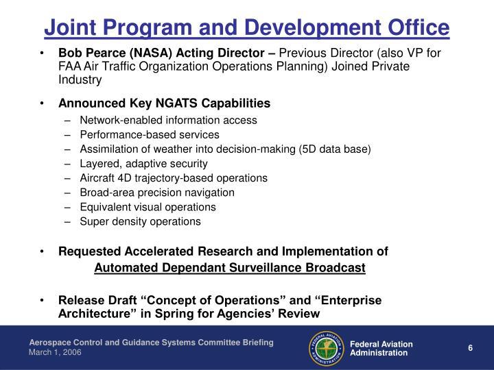 Joint Program and Development Office