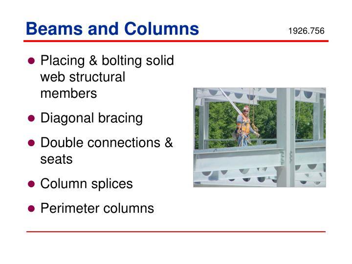 Beams and Columns