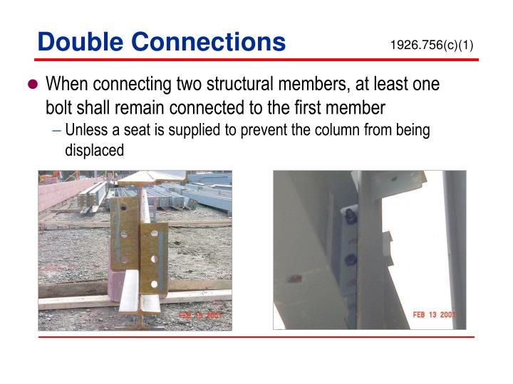 Double Connections