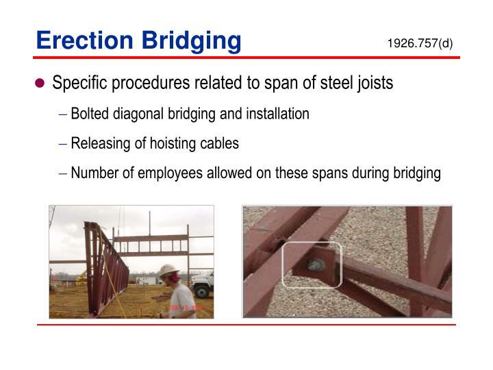 Erection Bridging