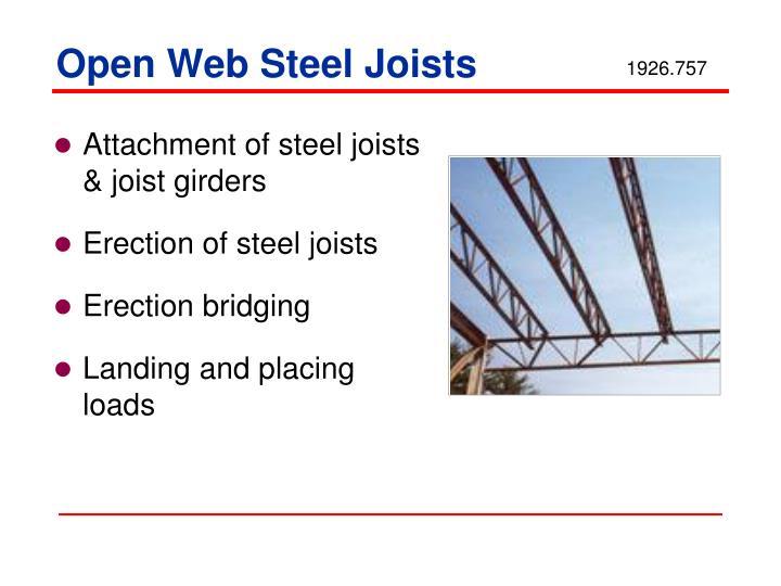 Open Web Steel Joists