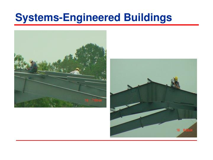 Systems-Engineered Buildings