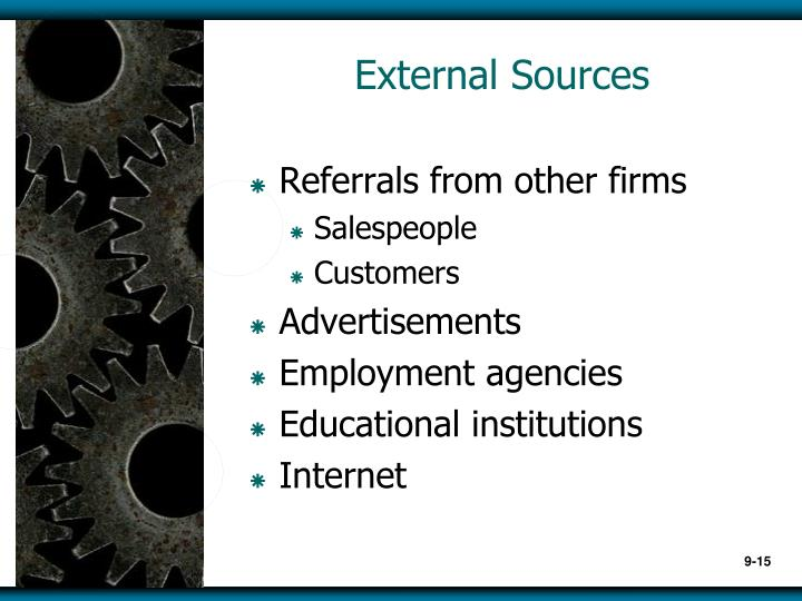 External Sources