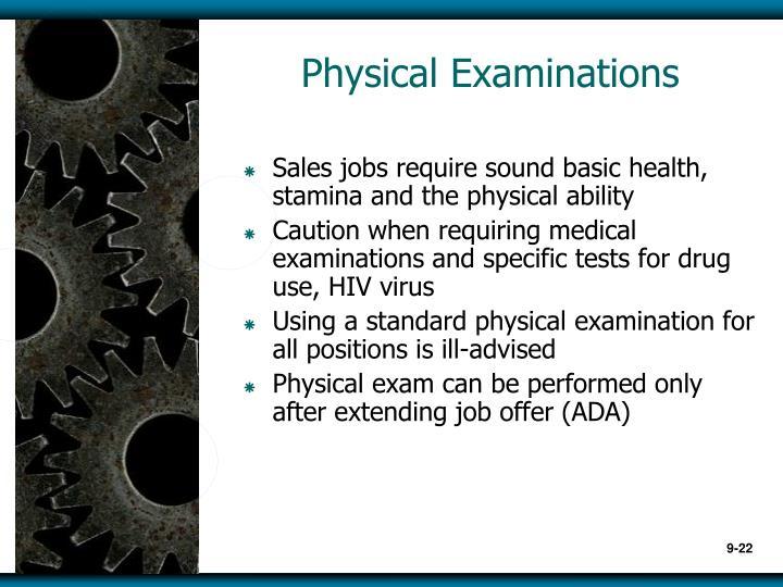 Physical Examinations