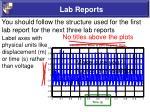 lab reports4
