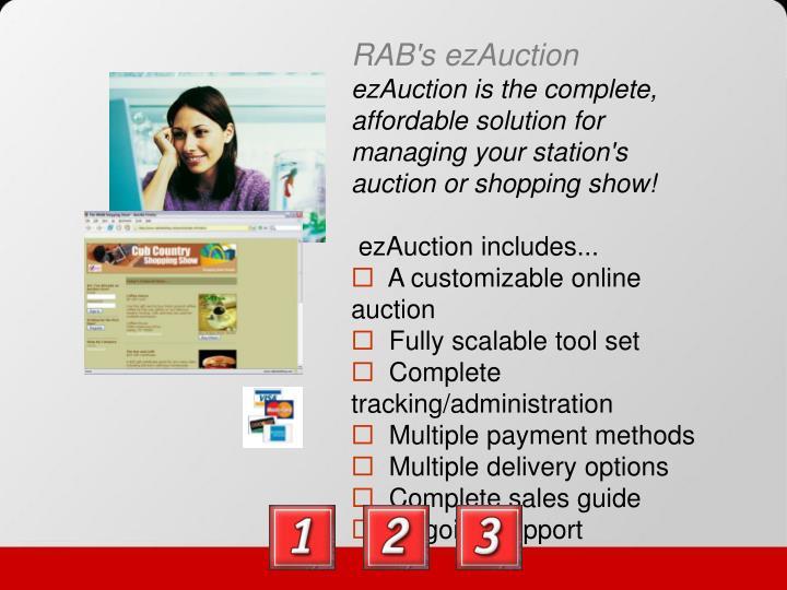 RAB's ezAuction