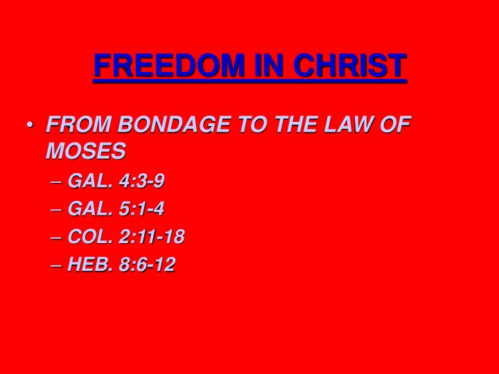 Freedom in christ2
