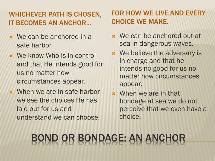 Whichever path is chosen,