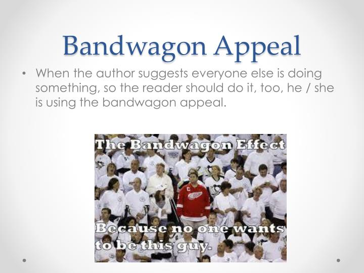 Bandwagon Appeal