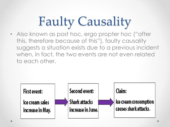 Faulty Causality