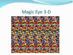 magic eye 3 d