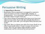 persuasive writing5