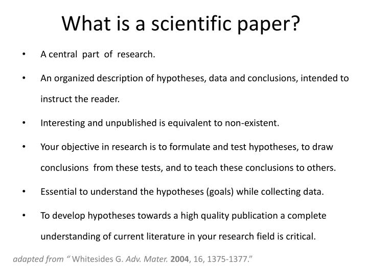 what are research papers A research paper can be used for exploring and identifying scientific, technical and when studying at higher levels of school and throughout college, you will likely be asked to prepare research papers.