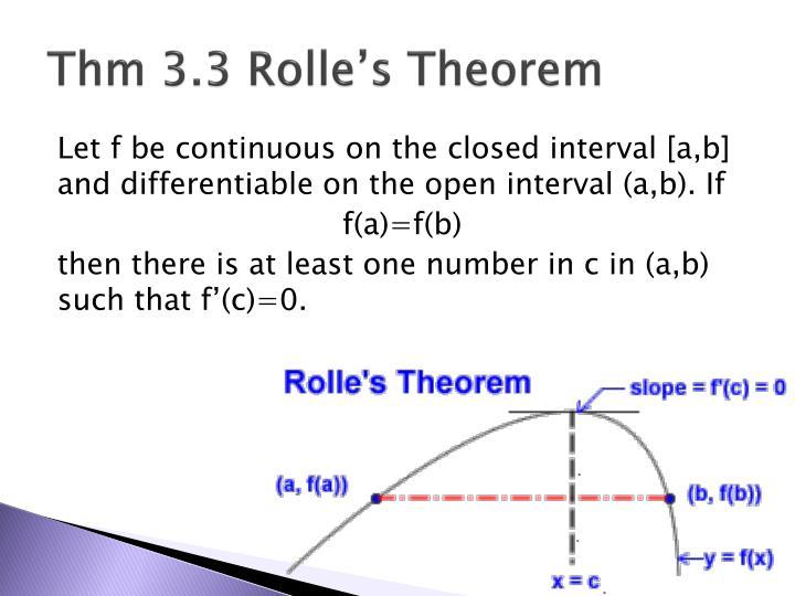 Thm 3 3 rolle s theorem