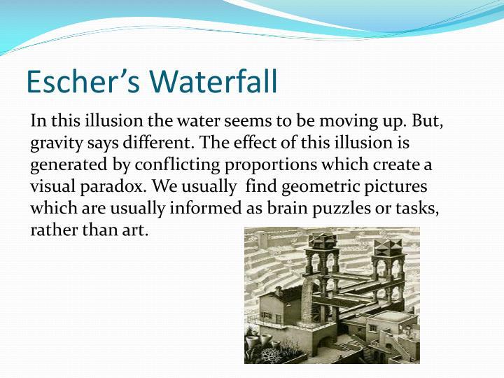 Escher's Waterfall