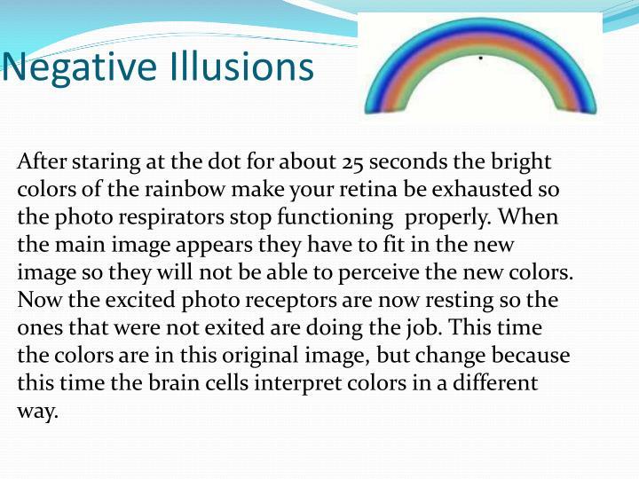 Negative Illusions