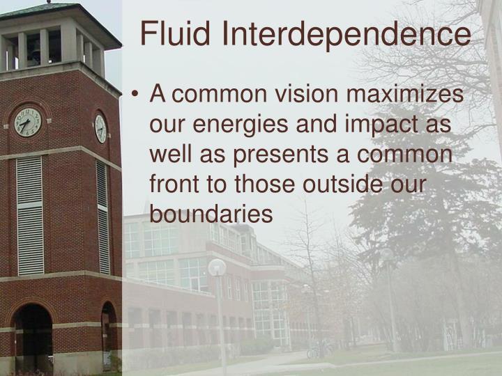 Fluid Interdependence