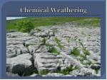 chemical weathering2