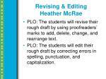 revising editing heather mcrae1