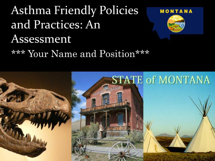 Asthma friendly policies and practices an assessment
